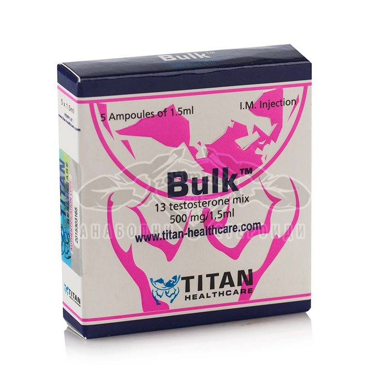 Bulk (13 Testosterone Mix) – 5 амп. х 500 мг.