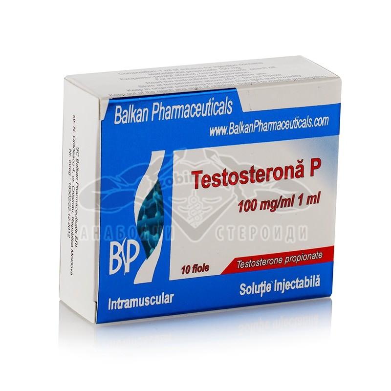 Testosterone P (Testosterone Propionate) – 10 амп. x 100 мг.