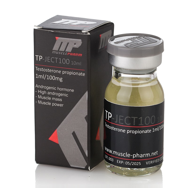 TP-Ject 100 (Testosterone Propionate) – 10 мл. х 100 мг.