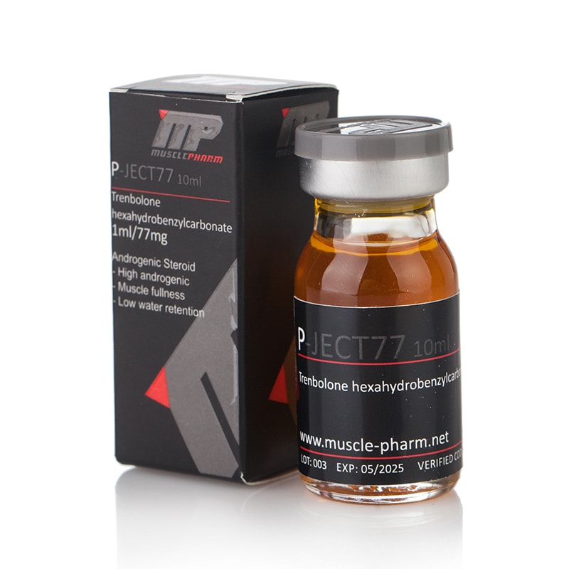 P-Ject 77 (Trenbolone Hexahydrobenzylcarbonate) – 10 мл. x 77мг./мл.