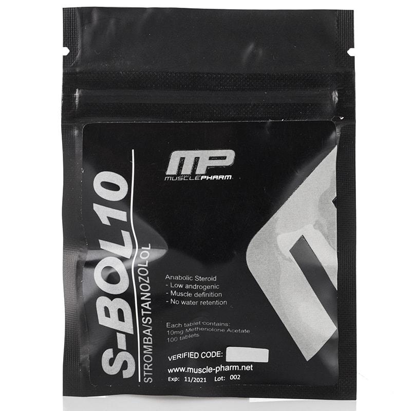S-Bol 10 (Stanozolol) – 100 таб. x 10 мг.