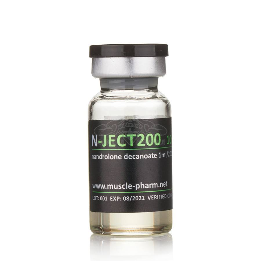 N-Ject 200 (Nandrolone Decanoate – 10 мл. x 200 мг./мл.