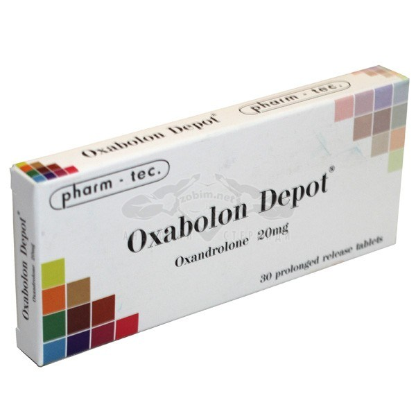 Oxabolon Depot (Oxandrolone) – 30 табл. х 20 мг.