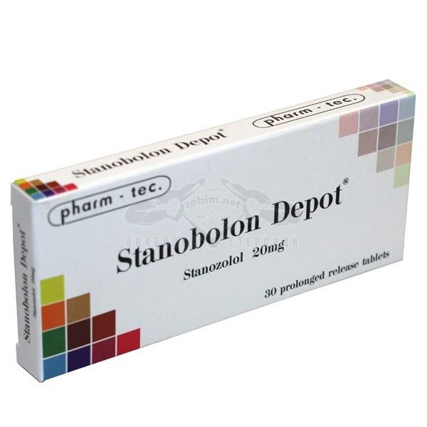 Stanobolon Depot (Stanozolol) – 30 табл. х 20 мг.