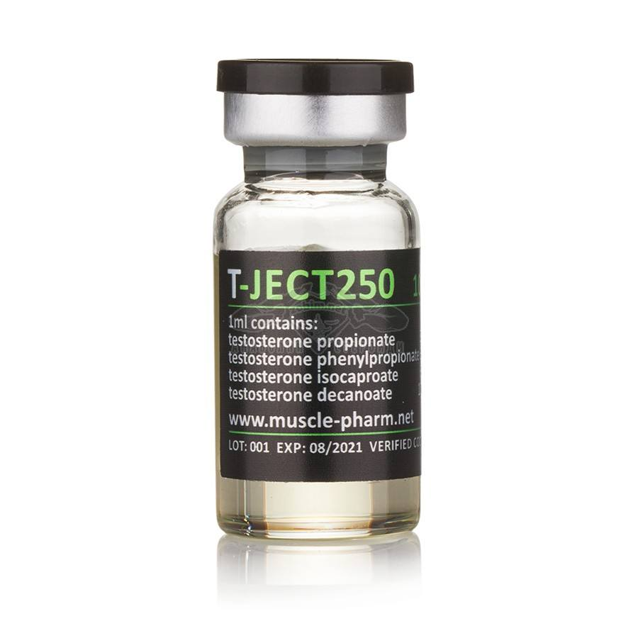 T-Ject 250 (Testosterone mix) – 10 мл. x 250 мг./мл.
