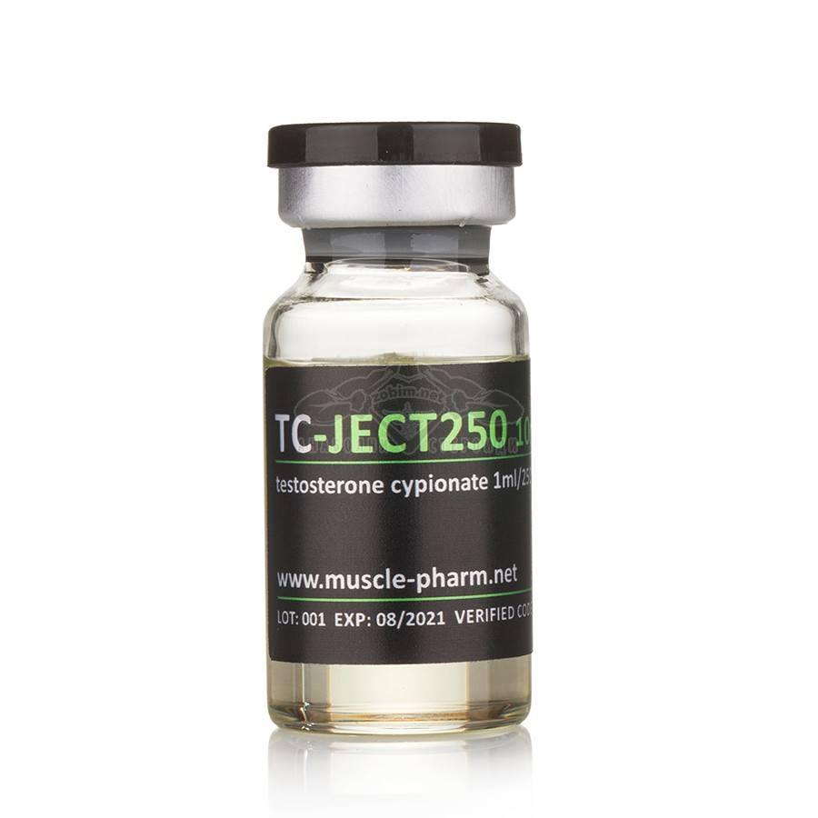TC-Ject 250 (Testosterone Cypionate) – 10 мл. x 250 мг./мл.
