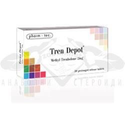 Tren Depot (Methyl Trenbolone) – 30 табл. х 2 мг.
