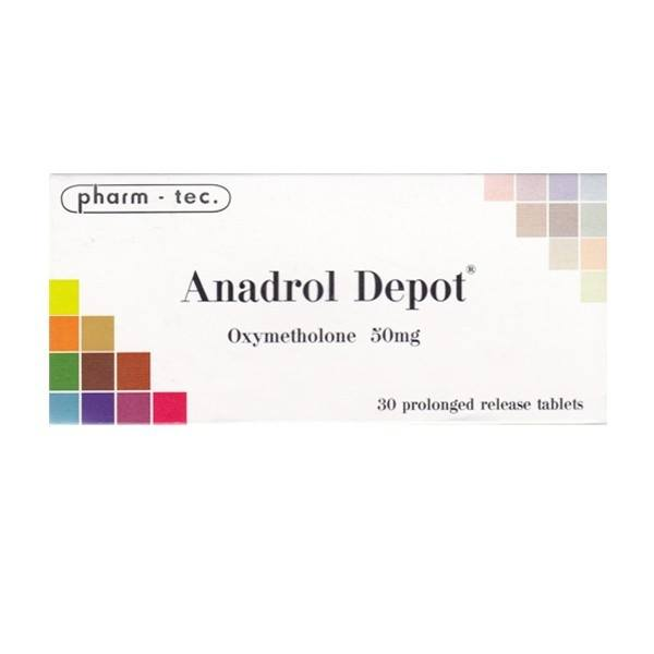 Anadrol 50 Depot (Oxymetholone) – 30 табл. х 50 мг.