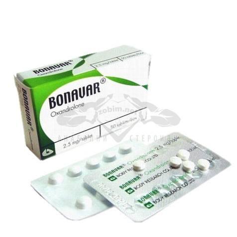 Bonavar (Oxandrolone) – 50 табл. х 2,5 мг.
