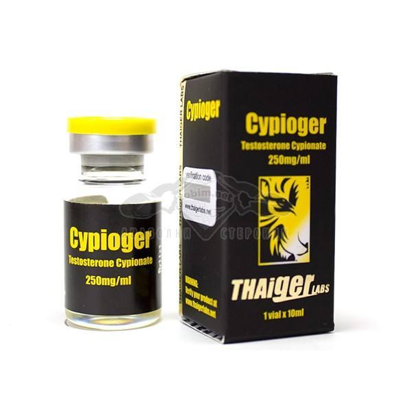 Cypioger (Testosterone Cypionate) – 10 мл. х 250 мг.