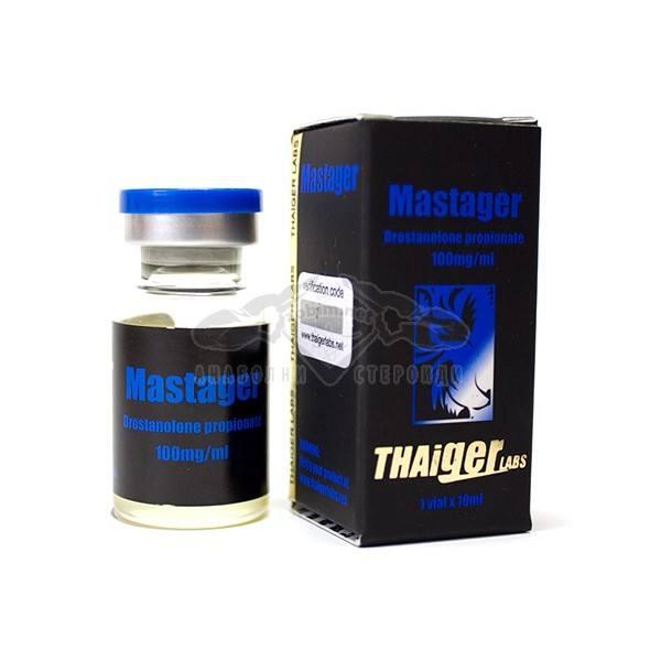Mastager (Drostanolone Propionate) – 10 мл. х 100 мг.