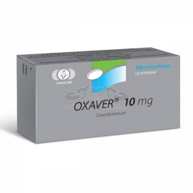 Oxaver (Oxandrolone) – 100 таб. x 10 мг.