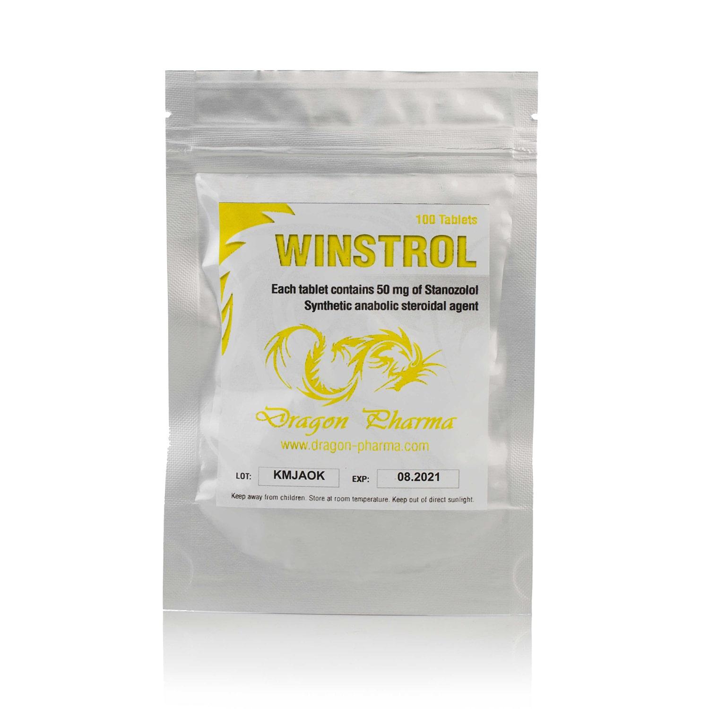 Winstrol (Stanozolol) – 100 табл. х 50 мг.