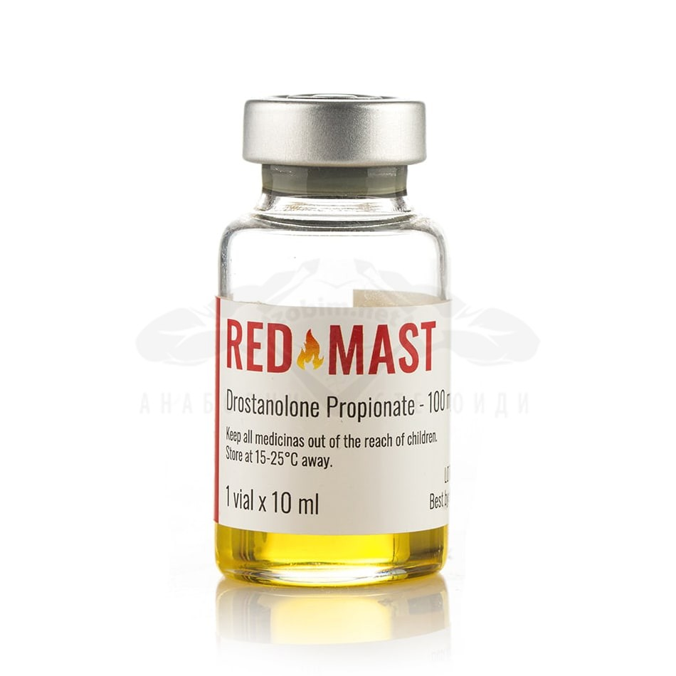 Red Mast 100 (Drostanolone Propionate) – 10 мл. х 100 мг.