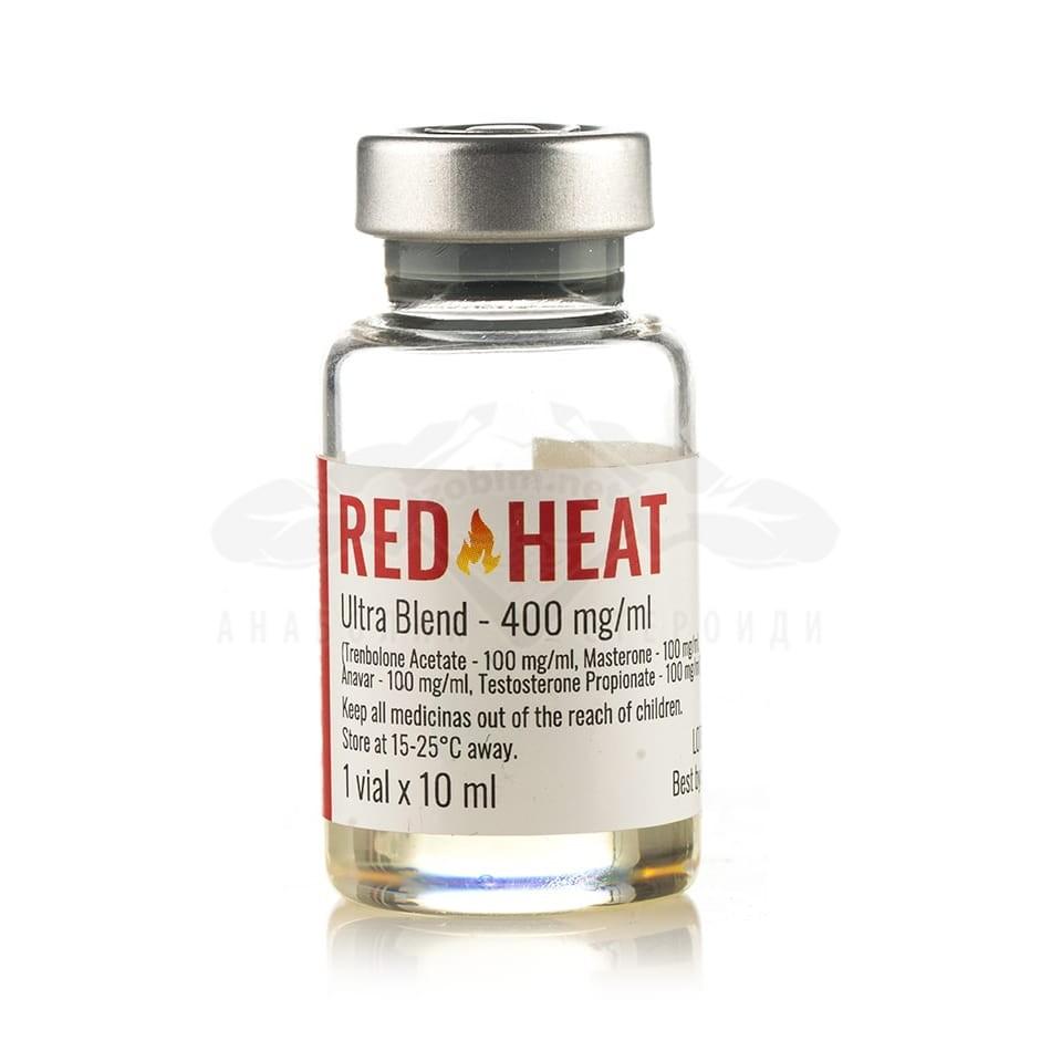 Red Heat 400 (хардкор микс за релеф) – 10 мл. х 400 мг.