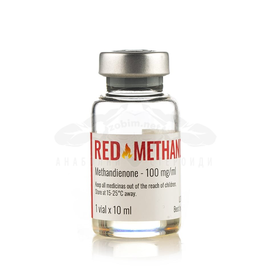 Red Methandrol 50 (Methandienone) – 10 мл. х 50 мг.