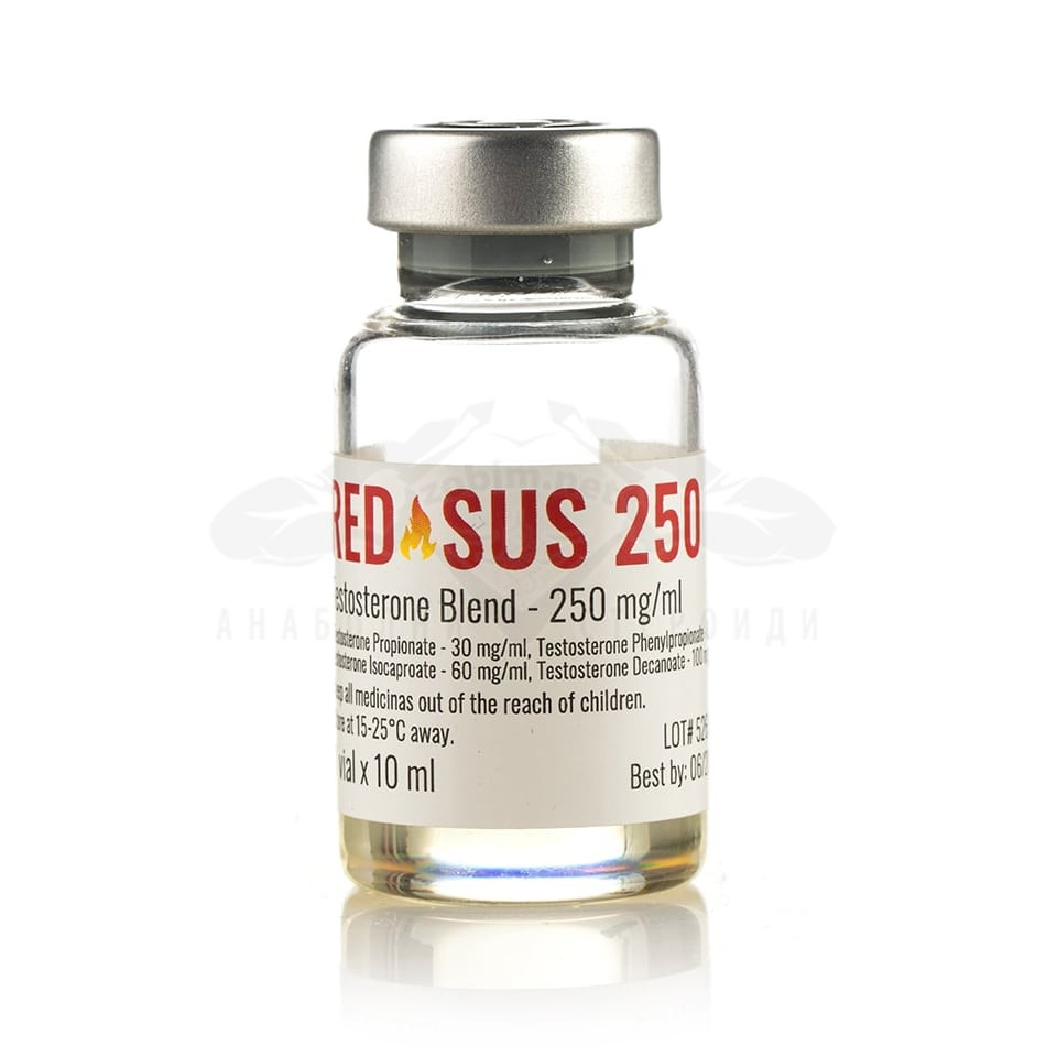 Red Sus 250 (тестостерон микс) – 10 мл. х 250 мг.
