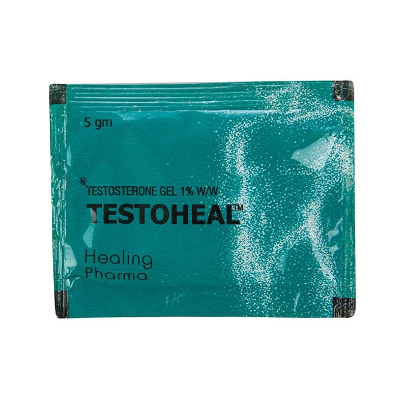 Testoheal (Тестостерон гел 50 мг.) – 14 сашета х 5 мл.