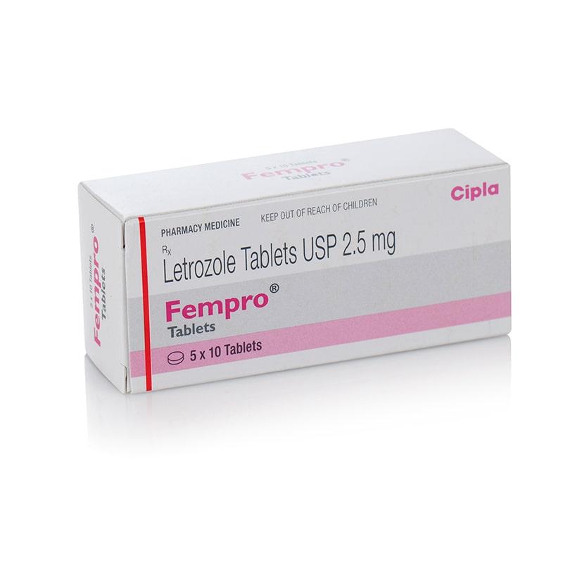 Fempro® (Letrozole) – 50 табл. х 2,5 мг.