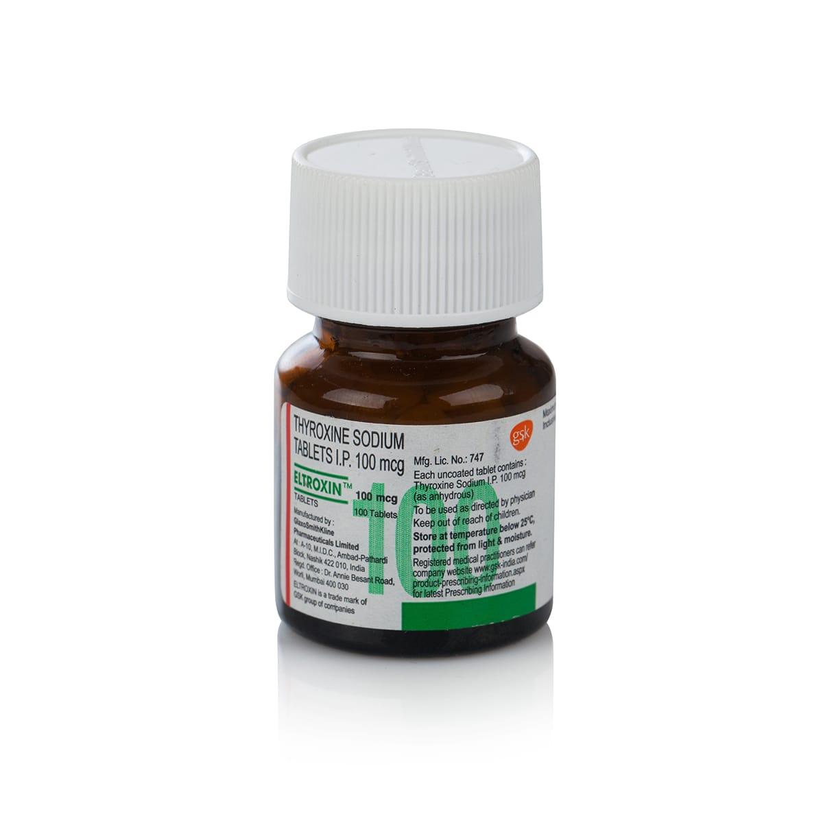 Т-4 (тироксин) – 100 табл. х 100 мкг.