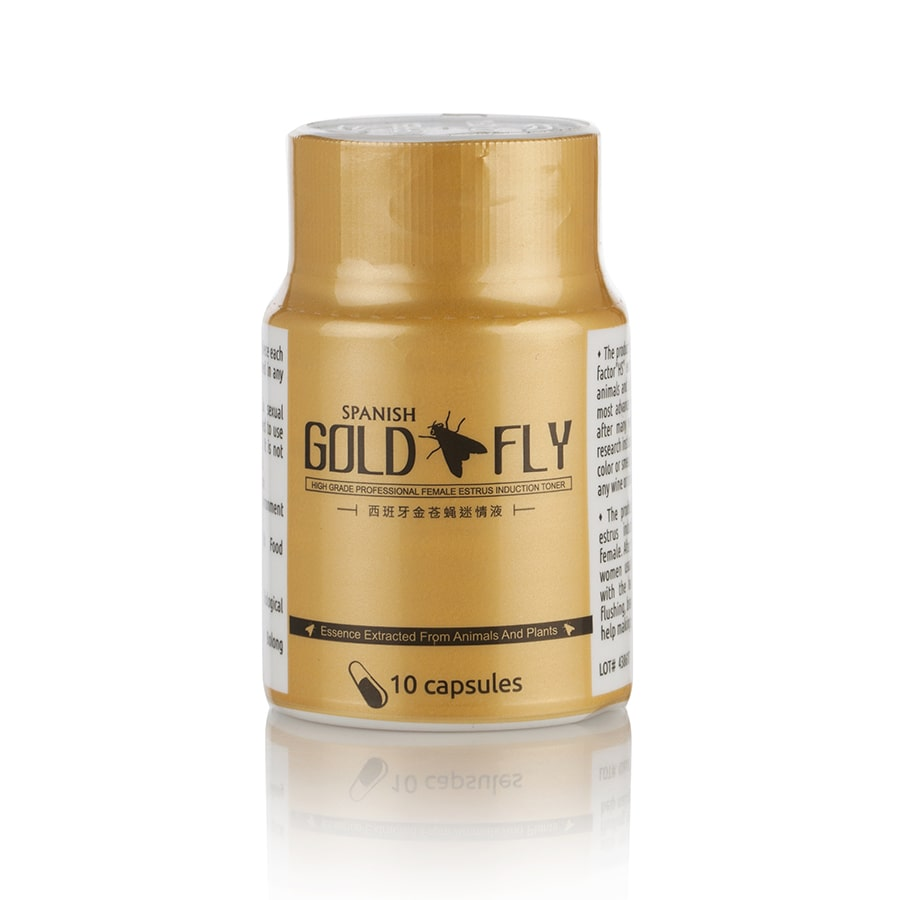 Златна Испанска Муха (Spanish Gold Fly) – 10 капс.