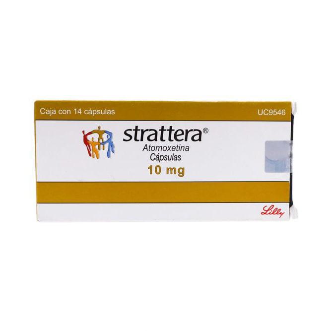 Strattera (Atomoxatine) – 14 капс. х 10 мг.