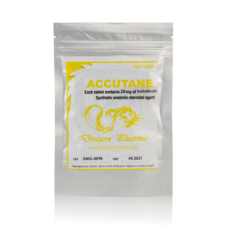 Accutane (Isotretinoine) – 100 табл. х 20 мг.