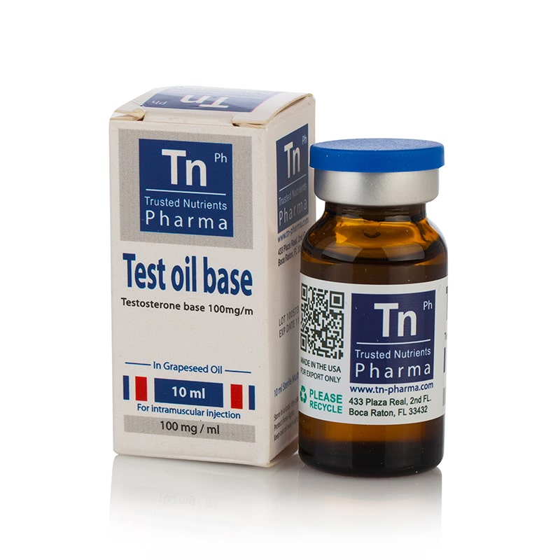 Testosterone Oil Base – 10 мл. х 100 мг.