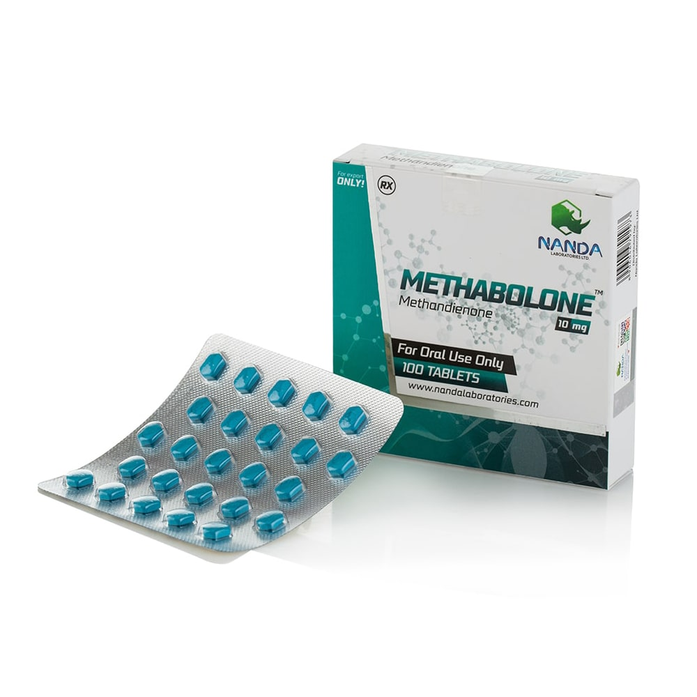 Methabolone (Methandienone) – 100 табл. х 10 мг.