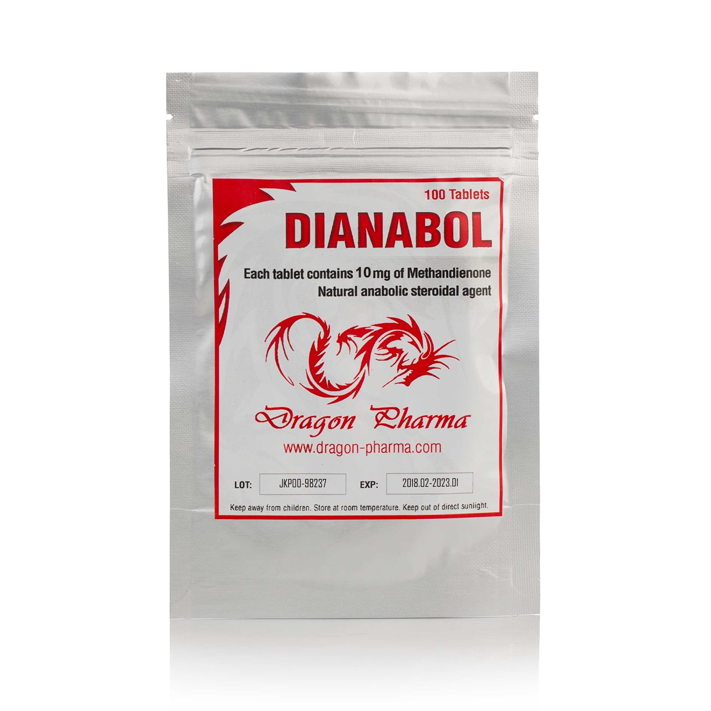 Dianabol (Methandrostenolone) – 100 табл. х 10 мг.