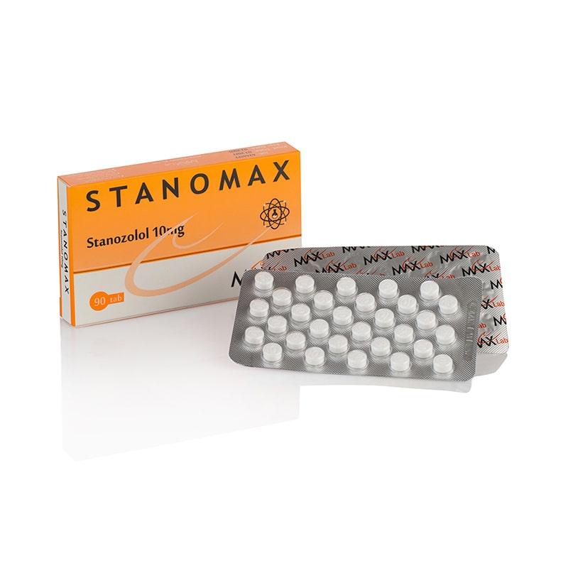 Stanomax (Stanozolol) – 90 табл. х 10 мг.