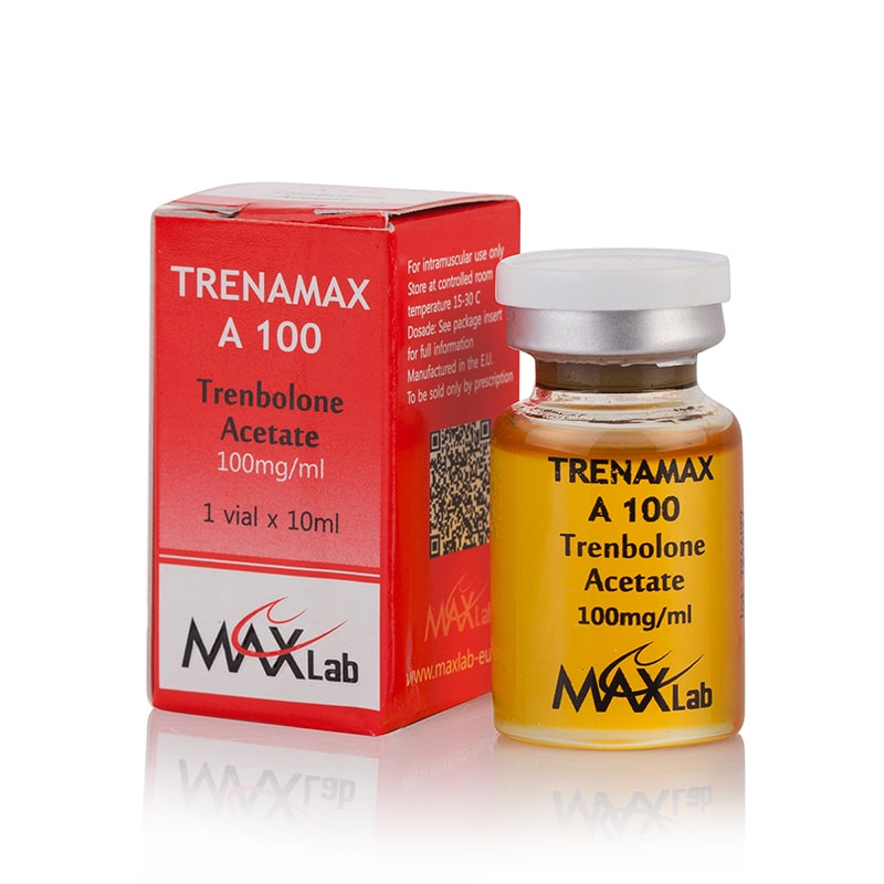 Trenamax A 100 (Trenbolone Acetate) – 10 мл. х 100 мг.