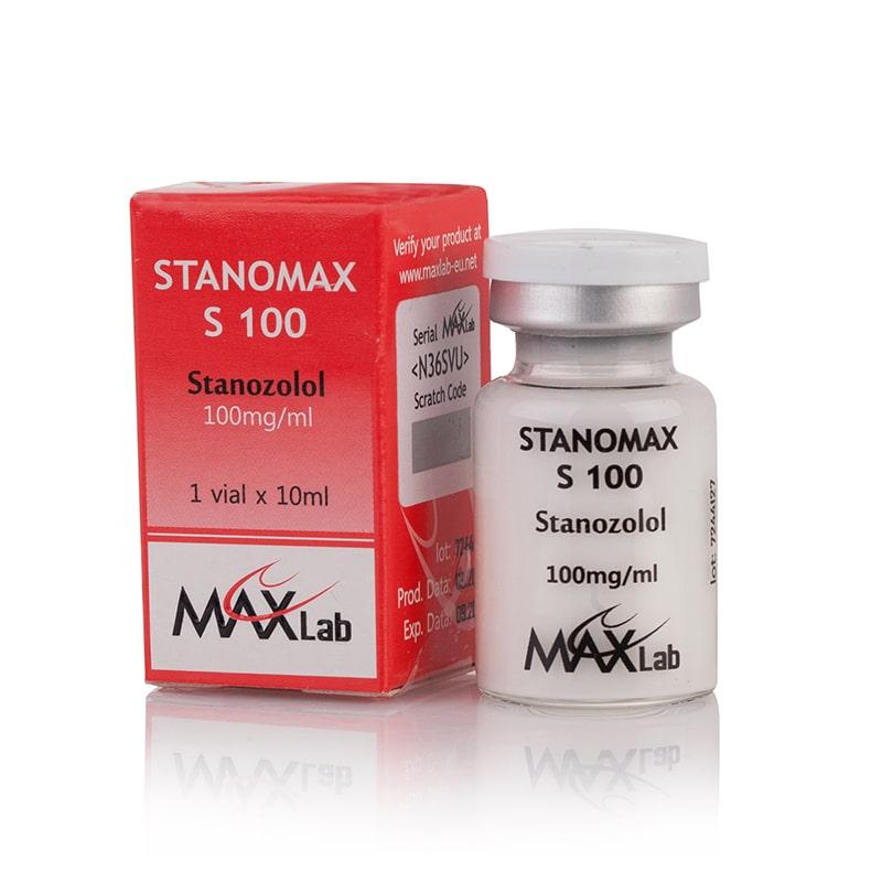 Stanomax S 100 (Stanozolol) – 10 мл. х 100 мг.