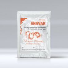 Anavar (Oxandrolone) - 100 табл. х 50 мг.