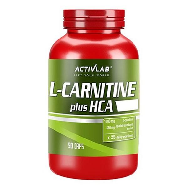 CARNITINE HCA PLUS 50 капсули