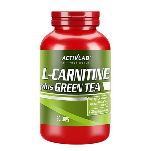 CARNITINE PLUS GREEN TEA 60 капсули