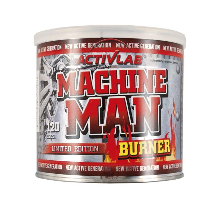 MACHINE MAN BURNER 120 капсули