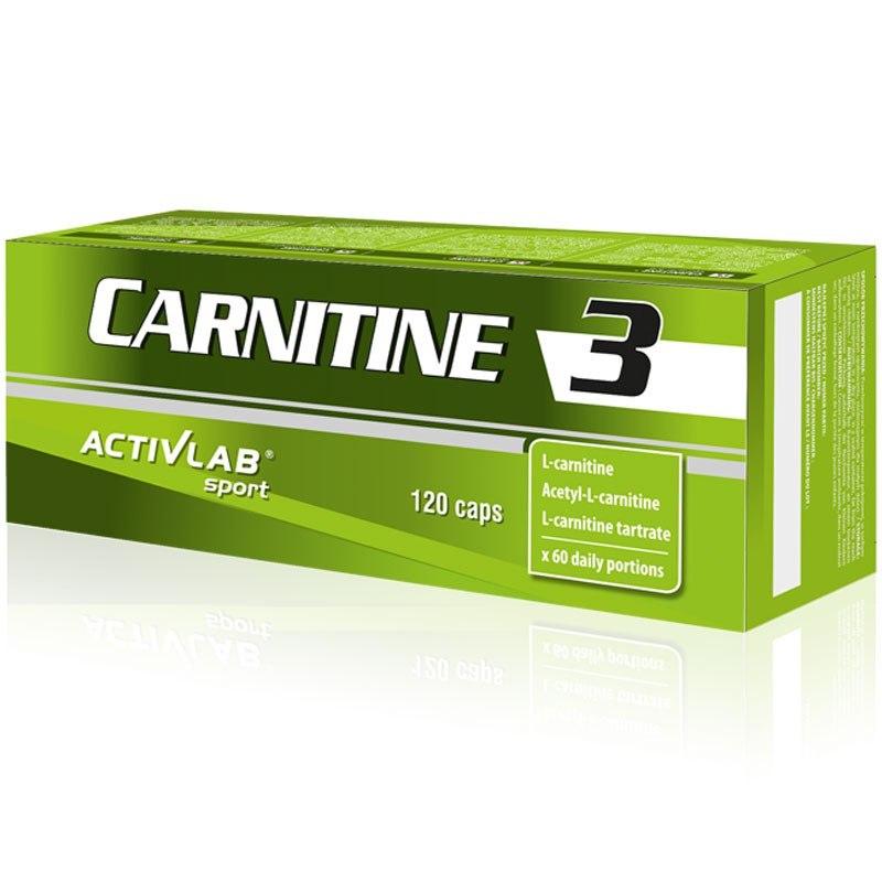 CARNITINE 3 120 капсули