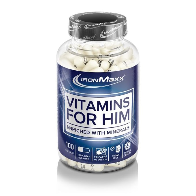 VITAMINS FOR HIM 100 капсули
