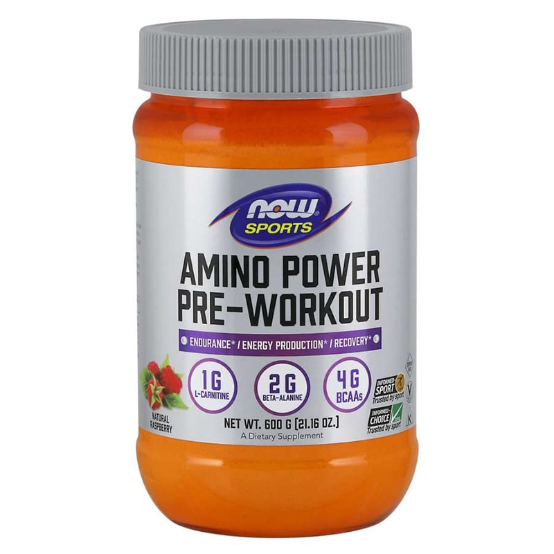 NOW Sports – Amino Power Pre-Workout – 600 гр.
