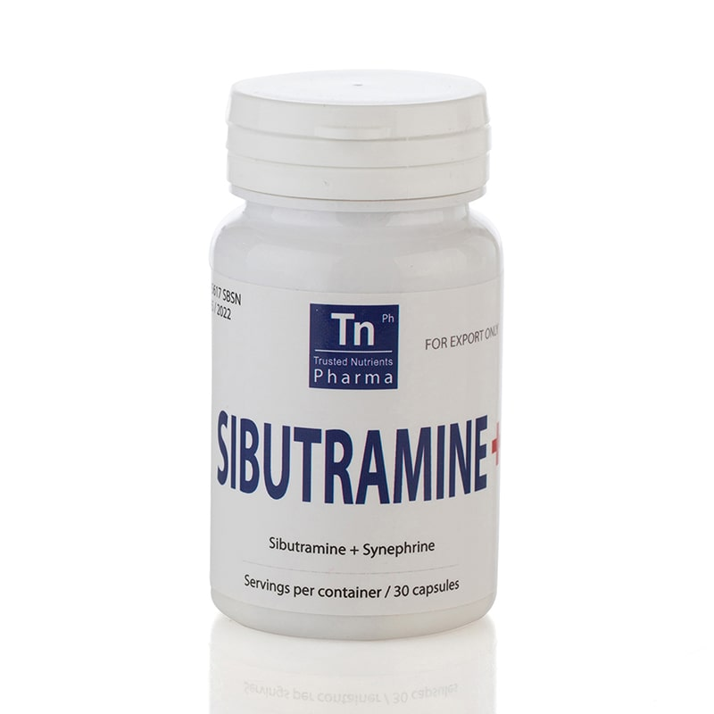 Sibutramine+ (Сибутрамин + Синефрин) – 30 капсули