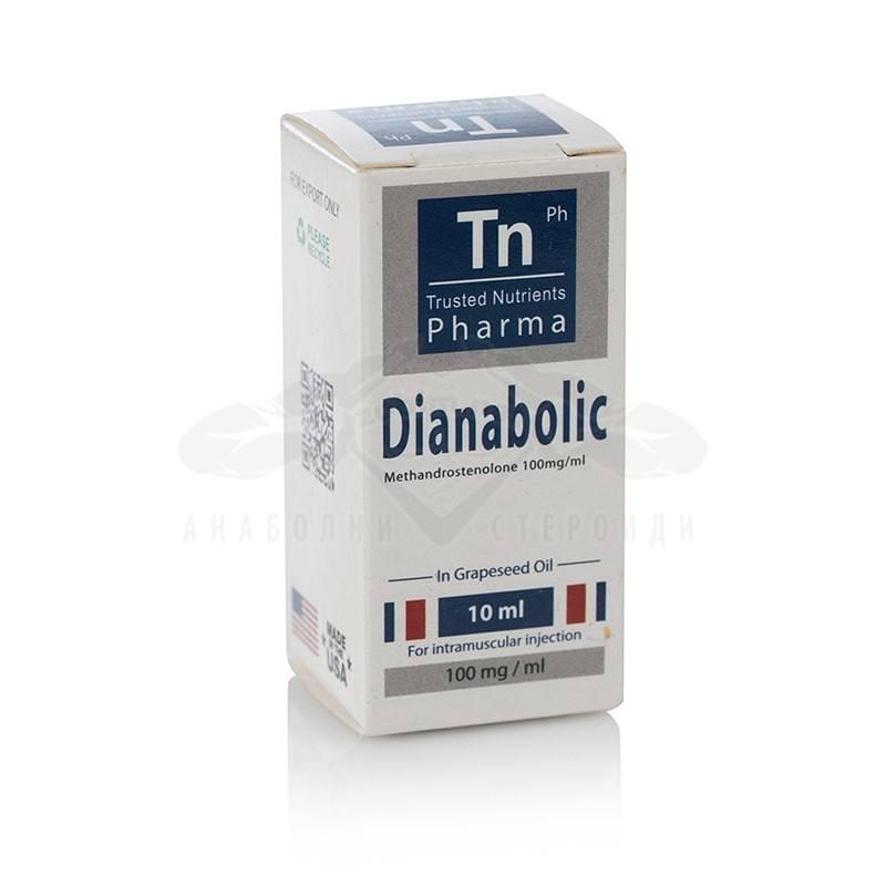 Dianabolic (Methandienone) – 10 мл. х 100 мг.