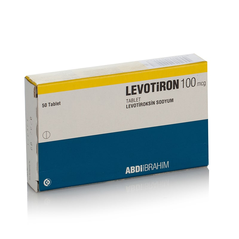 Levotiron (Levothyroxine) – 50 табл. х 100 мкг.