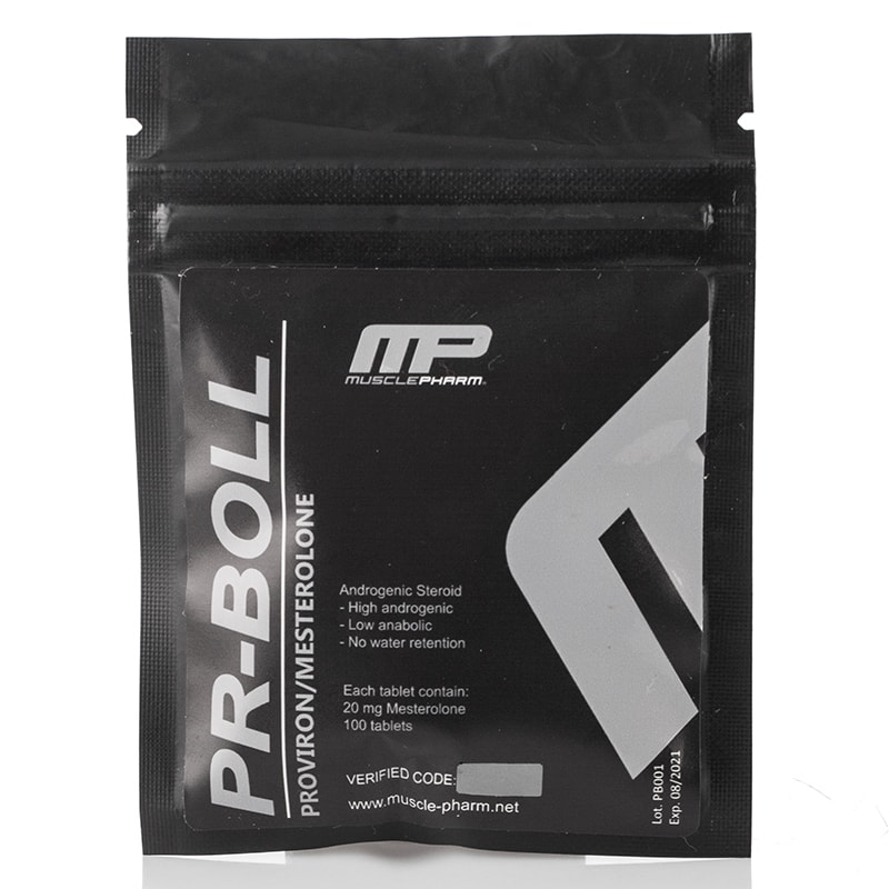 Pr-Boll (Mesterolone/Proviron) – 100 табл. х 20 мг.