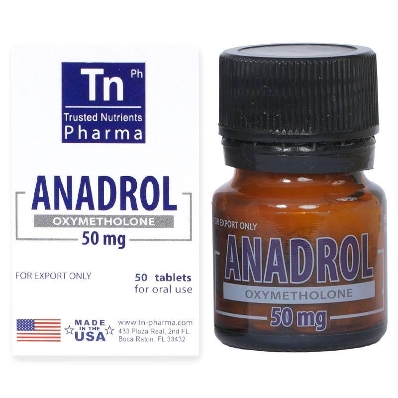 Anadrol (Oxymetholone) – 50 табл. х 50 мг.