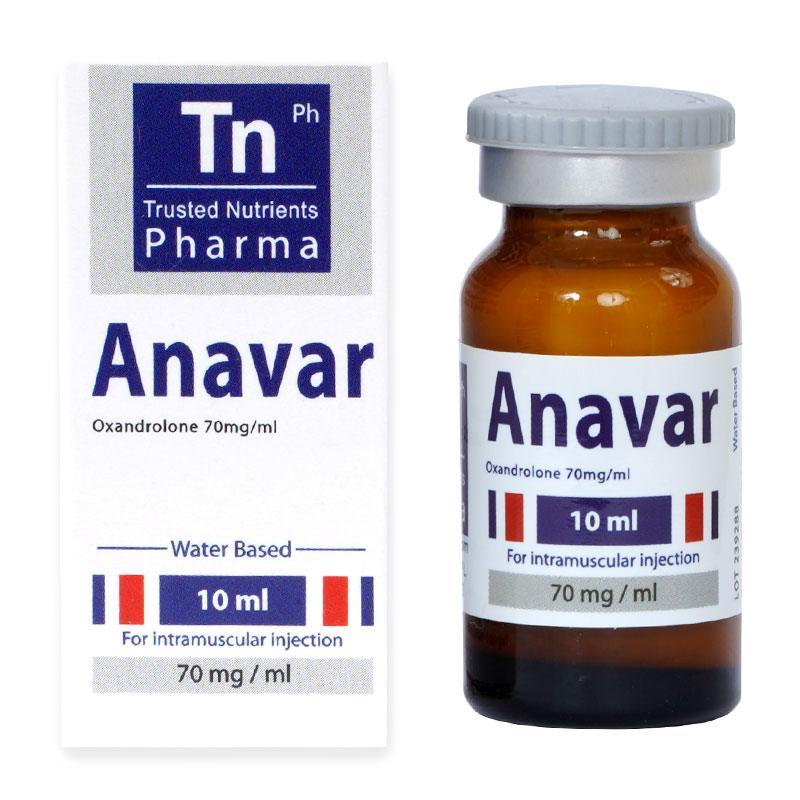 Anavar (инжекционен анавар) – 10 мл. х 70 мг.