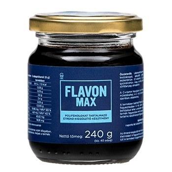 Flavon Max хранителна добавка за очи и кръвно налягане 240 гр.