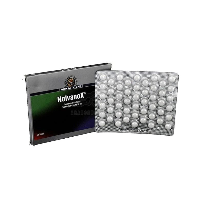 Nolvanox (Tamoxifen Citrate) – 50 табл. х 20 мг.