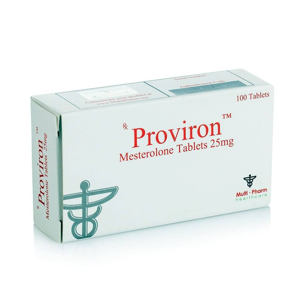 Proviron (Mesterolone) – 100 табл. х 25 мг.